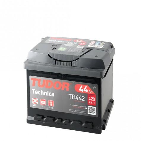 Batería Tudor 12V 44Ah 420A +Dch 207x175x175