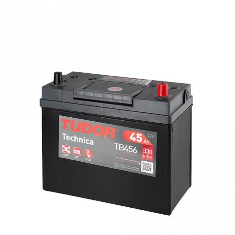 Batería Tudor 12V 45Ah 330A +Dch 237x127x227