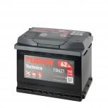Batería Tudor 12V 62Ah 540A +Izq 242x175x190