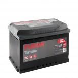 Batería Tudor 12V 74Ah 680A +Dch 278x175x190