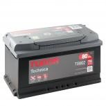 Batería Tudor 12V 80Ah 700A +Dch 315x175x175