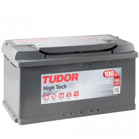 Batería Tudor 12V 100Ah 1000A +Dch 353x175x190