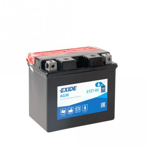 Batería Tudor 12V 6Ah 100A +Dch 113x70x105