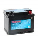 Batería Tudor Start&Stop AGM 60Ah +D 242x175x190