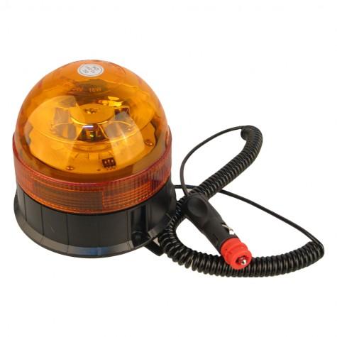 Rotativo Led Ámbar Magnético Homologado R65/R10