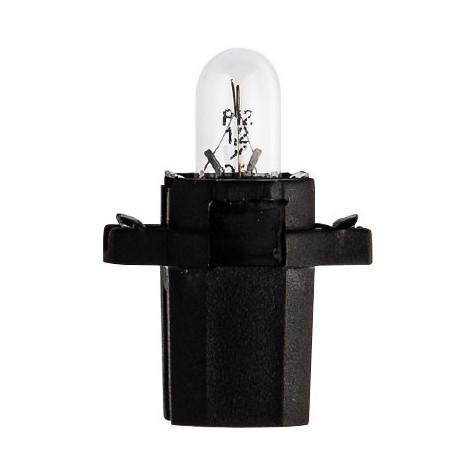 1 Lámpara Tablero 12V 1,2W 8,3s Negra