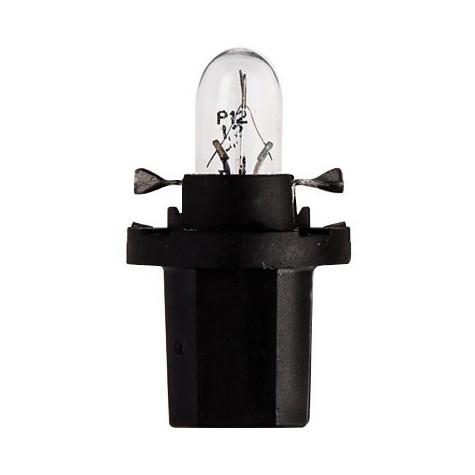 1 Lámpara Tablero 12V 1,2W 8,5d Negra