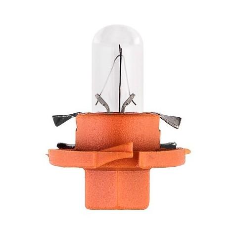 1 Lámpara Tablero 12V 1,1W BX8,4D Naranja
