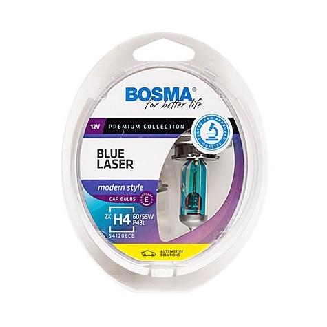 Estuche 2 Halógenas H4 12V 60/55W Blue Laser