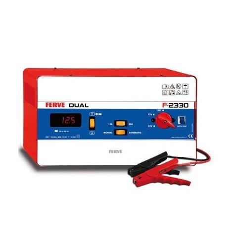 Cargador Dual Digital 105-360Ah 12-24V 15-30A