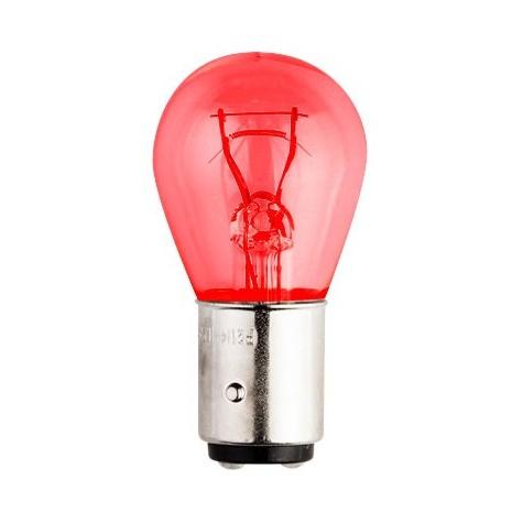 Lámpara Stop 12V 21/5W P. Centrados Roja