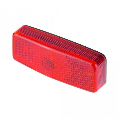 Luz Posición Roja s/Reflex 110x46mm