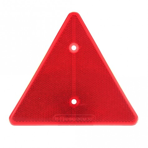 Reflex Triangular Rojo