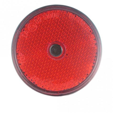 Reflex Redondo Rojo Tornillo Ø60mm