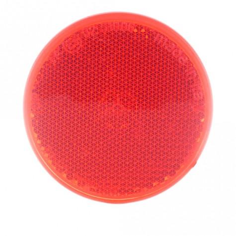 Reflex Redondo Rojo Adhesivo Ø60mm