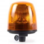 Rotativo Ámbar Lámpara Halógena H1 Asta 12V