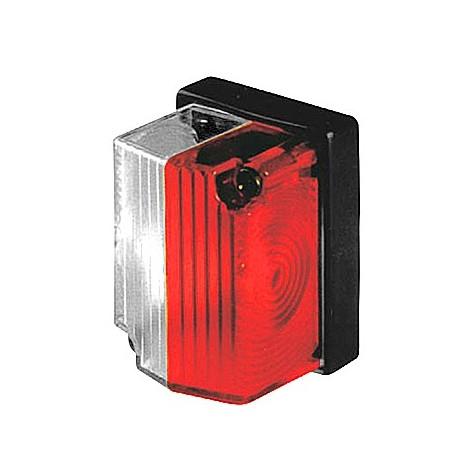 Luz Posición Roja Blanca Cuadrada 58x43