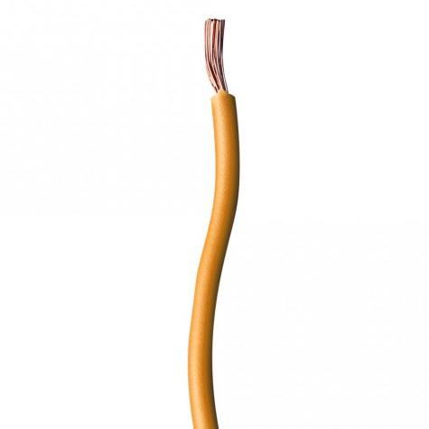 100m Cable Instalación Naranja 1mm2