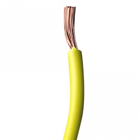 50m Cable Instalación Amarillo 6mm2