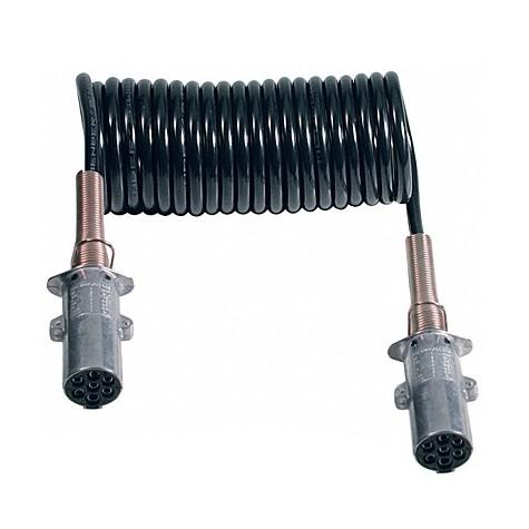 Espiral Ø60mm 24V 7P Conectores Tipo N 4.5m L