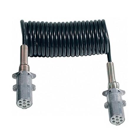 Espiral Ø60mm 24V 7P Conectores Tipo S 4.5m L