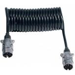 Espiral Ø60mm 12V 7P Conectores Alum. 3.5m L