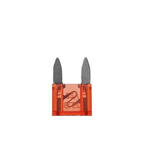 100 Fusibles Mini 10A 32V Rojo