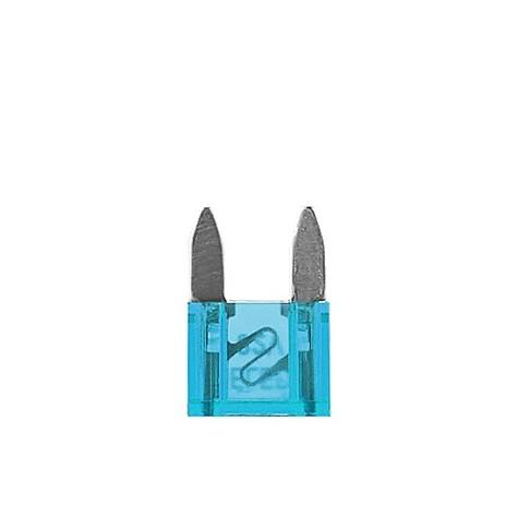 100 Fusibles Mini 15A 32V Azul