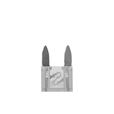 100 Fusibles Mini 25A 32V Transparente