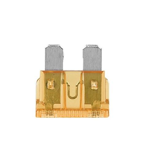 100 Fusibles Universal 40A 32V Naranja