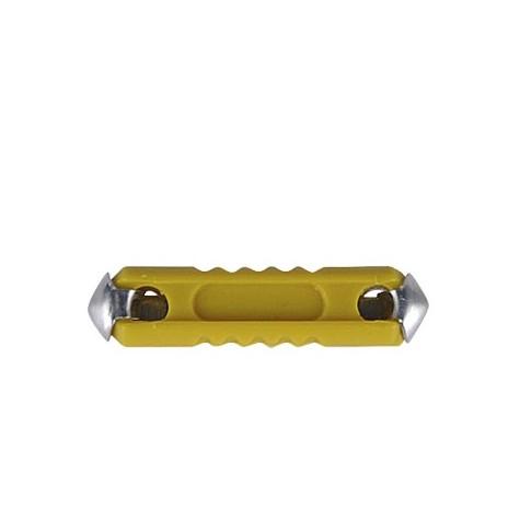 100 Fusibles Termoplásticos 16A 32V Amarillo
