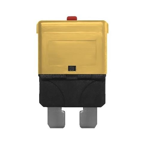 3 Fusibles Rearmables Tipo Mini 7.5A 24V Marrón