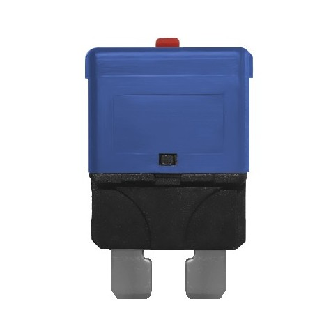 3 Fusibles Rearmables Tipo Univ 15A 32V Azul