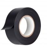 5 Rollos Cinta Aislante PVC Negro 25mx50mm