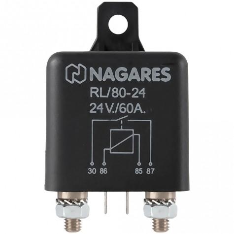 Relé Potencia Interruptor 24V 60A Universal