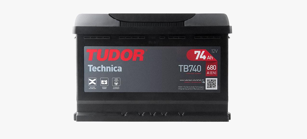 Batería Tudor 74Ah