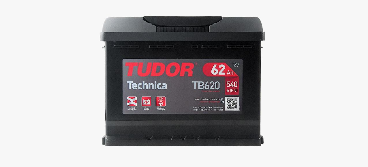 Batería Tudor 62Ah